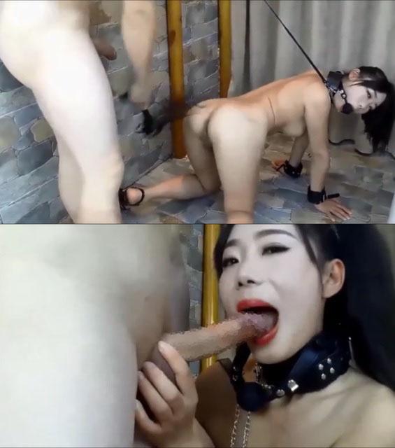 【無】韓国美女**アナルSEX